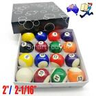 2 Inch & 2-1/16 Pool Balls Set for Pool Billiards Snooker Available AU $36.95 AUD on eBay