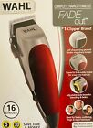 💈🔥¡NEW! GENUINE WAHL ELITE COLOR FADE CUT EXTREME GRIP PRO HAIR CLIPPERS KIT !