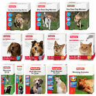 Beaphar Dogs & Cats Worming Wormer Treatments Tablets Cream Roundworm Tapeworm