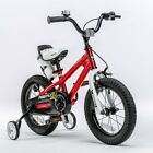 16 Inch Freestyle Kid's Bike for Boys & Girls with Training Wheels and Kickstand