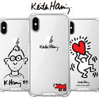 Genuine Keith Haring Jelly Hard Case iPhone SE 2020 2nd Generation made in Korea