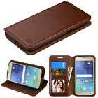 For Samsung Galaxy J2 2016 Hybrid Leather Wallet Card Pouch Stand Case Cover