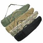 Single Scoped Long Rifle Case Gun Bag w/Padded Shoulder Handle Multiple Pouch