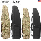 Professional Gun Case Hunting Tactical Rifle Bag Carrying Black Camo With Strap