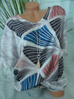 Samoon T-Shirt Ladies plus Size 50 To 52 Patterned (513)