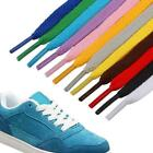 1m Shoelaces Colorful Coloured Flat Round Bootlace Shoelaces Strings M5y5