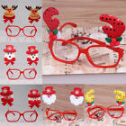 Kids Christmas Santa Elk Snowman Glasses for Home Cosplay Club Costume Party NEW