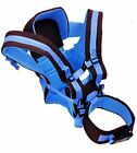 4 Position Baby Carrier   Front & Rear, Backpack and Sling Facing. Padded Belt