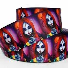 "GROSGRAIN RIBBON 7/8"",1.5"" NIGHTMARE BEFORE CHRISTMAS Halloween W4H Printed BULK"