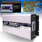 Intelligent Pure Sine Wave Inverter DC12V24V48V60V to AC110/220V Max 2000W-6000W