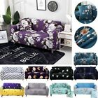 1 2 3 4 Seater Stretch Chair Sofa Covers Couch Cover Flower Slipcover Protector