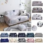 1 2 3 4 Seater Slipcover Chair Sofa Cover Full Stretch Elastic Couch Protector
