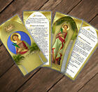 Saint St Corona, now patron of pandemics - Eastern Orthodox laminated cards