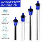 50W/100W/300W Submersible Aquarium Fish Tank Water Heater Rods w/ Suction Cup US