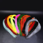 100 Root/bundle Holographic Tinsel String Jig Hook Material Lure S4h6 C6i4