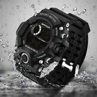 Men Women Watches LED Digital Military Army Sport Wrist Watch GiftWaterproof US image