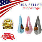 REVERSIBLE Small Dog Cat Sling Carrier Bag Travel Double Sided Pouch Shoulder