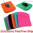Ergonomic Square Large Thick Wrist Support Comfortable Mouse Mice Mat Pad A++ LO