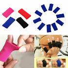 10Pcs Finger Protector Sleeve Support Basketball Sports Aid Arthritis Band Wraps $3.68 USD on eBay