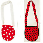 POLKA DOT SHOULDER BAG FANCY DRESS ALTERNATIVE