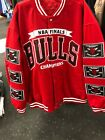 CHICAGO BULLS 6 TIME NBA FINALS RED WORLD CHAMPIONSHIP  Jacket BY J H DESIGN on eBay