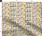 School Supplies Kids Stickers Small Repeat Fabric Printed by Spoonflower BTY