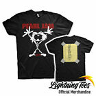 Official Pearl Jam Stickman Alive Rock Band T-Shirt