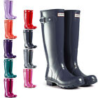 Womens Hunter Wellington Boots Original Tall Gloss Snow Wellies Ladies US 5-10