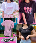 [BARBIE] BARBIE Edition Short Sleeve Basic T-Shirts Summer Barbie T-Shirts