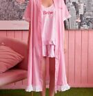 [BARBIE] BARBIE Edition - BARBIE Logo Sleepwear set  / Barbie Summer Robe