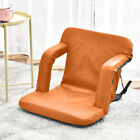 Adjustable Lazy Chair 5-Position Folding Floor Sofa Chairs Home Padded Seat New