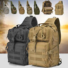 Mens Tactical Military Crossbody Shoulder Bag Chest Pack Camping Hiking Backpack