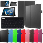 For Lenovo Tab E7 E8 E10 M10 P10 E10 TB-X103F Tablet Keyboard Leather Case Cover