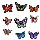 Butterfly Iron On Embroidered Patches Sew Applique Repair Patch Set Diy