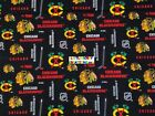 NHL CHICAGO BLACKHAWKS Cotton Fabric - 1/4 to 1/2 YARD - OOP & RARE $18.95 USD on eBay