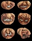 Funny Scary Gag LATEX LOWER HALF FACE MASK Halloween Costume Mouth Cover -CHOOSE
