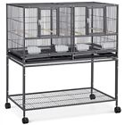 Stackable Divided Breeder Breeding Parakeet Bird Cage for Canary Cockatiel