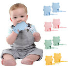2pcs Silicone Baby Molar Gloves Soft Teether Mitten Infants Anti-Bite Chew Toy