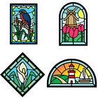 Stained Glass Photos Cutting Dies Metal Stencil for DIY Scrapbooking Paper Craft