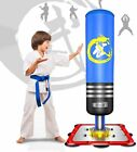 US Free Standing Punching Bag Heavy Boxing Bag with Suction Cup Base Kick Bag