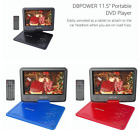 "DBPOWER 11.5"" Portable DVD Player 5 Hours Built-in Rechargeable Battery Kids"