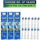 GENUINE ORAL B TOOTHBRUSH HEADS (PRECISION CLEAN)
