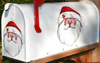 Mailbox Magnet Partail Cover Santa Claus Magnet Magnetic Holiday Christmas Car