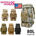 Large Military Tactical Backpack Daypack Bag for Hiking Camping Outdoor Sport