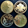 2019 P D & S American Innovation 4 STATES DE GA NJ PA 12 $1 Coin Set Proof & BU