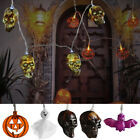 Haunted House Necklace Lights Halloween LED Light String Halloween Decoration