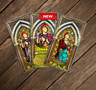 Saint Longinus, patron of soldiers and lost items laminated holy Prayer cards