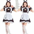 Sweet Lolita Cat Maid Dress Halloween Costume Party Bubble skirt Cosplay Suit