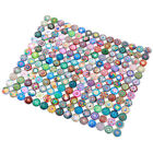 Rosenice Mosaic Tiles 200pcs 10/12/14mm Mixed Round for Crafts Glass Supplies