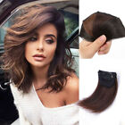 Women Invisible Hairpin Hair Clip in Side Bangs 100 Human Hairpieces One Piece